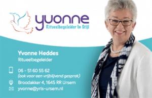 Logo Yvonne Ritueelbegeleider In Stijl